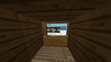 Cinema room (use webdiplays) Minecraft Map & Project