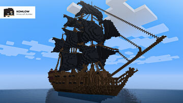 Black Pearl -  Pirates of the Caribbean Minecraft Map & Project