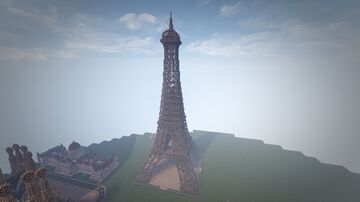 Eiffel Tower of Paris (Conquest Reforged) Minecraft Map & Project