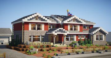 Realistic Colorado Broadmoor House Minecraft Map & Project