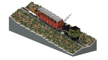 Brienz Rothorn Bahn | 5:1 Diorama Minecraft Map & Project