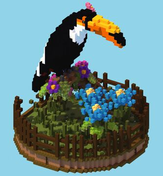 Toucan Organic Minecraft Map & Project