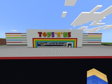 90's Toys R Us Minecraft Map & Project