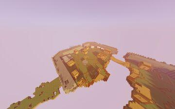 "Floating Village ""Skoúpa"" Minecraft Map & Project"