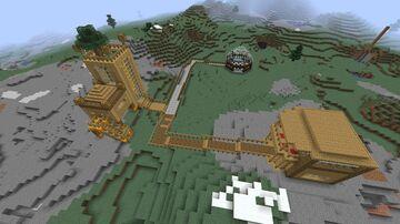 Cusom Village Minecraft Map & Project