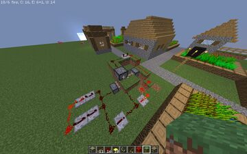 The worst blocks transporter I've ever made FOR 1.8.9 Minecraft Map & Project