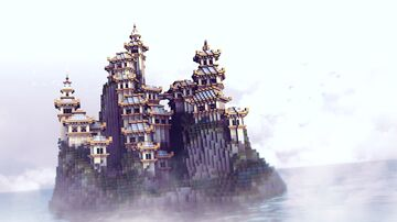 Air Temple Minecraft Map & Project