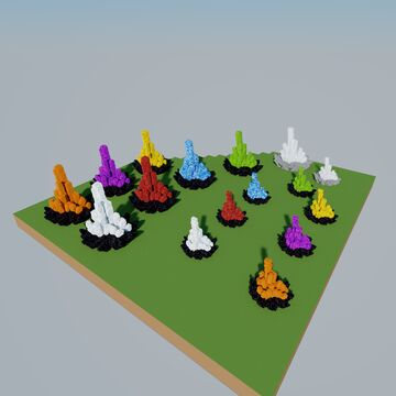 crystals Minecraft Map & Project
