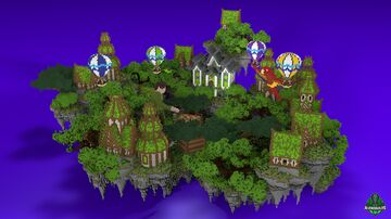 ⭐ EXCLUSIVE ⭐ SkyBlock / Hub - AliensBuilds 🏫 Minecraft Map & Project