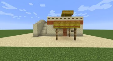 Egyptian Middle-Class House Minecraft Map & Project