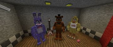 Five Nights at Freddys Map Minecraft Map & Project