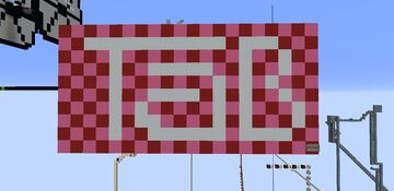 TaB Logo - Pixel Art Minecraft Map & Project