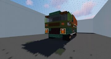 Ashok Leyland Stallion Minecraft Map & Project