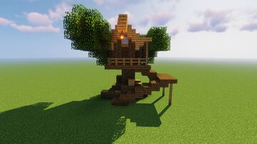 Tree House Design Minecraft Map & Project