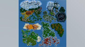 The World of Aeklobis (10k x 10k Custom Terrain) Minecraft Map & Project