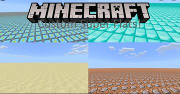 Super Flat Layers Minecraft Map & Project