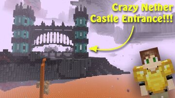 1.16 Nether Gate Minecraft Map & Project