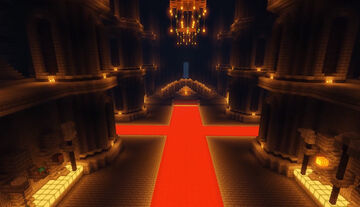 MASSIVE Medieval Castle Spawn [Download Included] Minecraft Map & Project