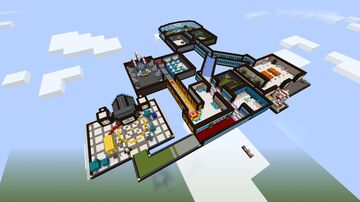 MiraHQ Among Us Minecraft by: Smiley Director Minecraft Map & Project
