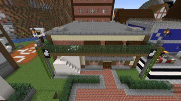Café Design | FLORPUS Minecraft Map & Project