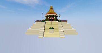 Tiny Ehecatl Temple Minecraft Map & Project