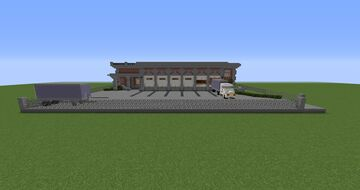 Small Warehouse with Office Minecraft Map & Project