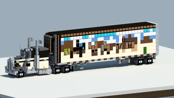 kenworth w900a from the movie smokey and the bandit [With Download] Minecraft Map & Project