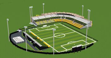 USL Stadiums - Al Lang Stadium Minecraft Map & Project