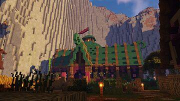 Picnic Fantasy Spawn Minecraft Map & Project