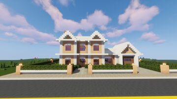 Suburban House Map and Schematic Minecraft Map & Project