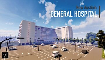 General Hospital (Full Interior) Minecraft Map & Project
