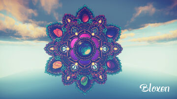Infinity Flower Portal Minecraft Map & Project
