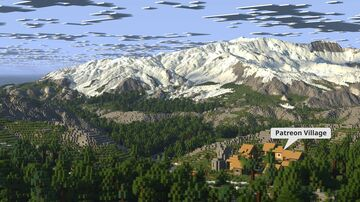 Advent Map [12] Trontal [3k, Survival, Download: Java & Bedrock] Minecraft Map & Project