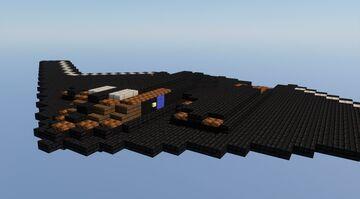 B-2 Spirit 1.5:1 scale Minecraft Map & Project