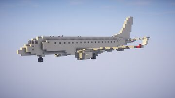 1,5:1 Embraer E175 + Liveries Minecraft Map & Project