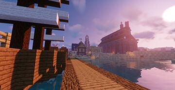 Athesne's Wreck Victorian XP Factory Minecraft Map & Project