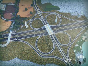 Clemont-Dalewood Interchange Minecraft Map & Project