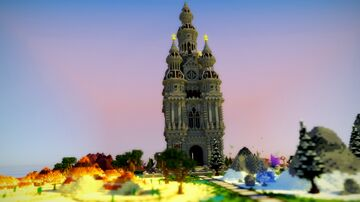 Palace UHC Spawn Minecraft Map & Project