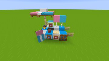 Cotton Candy Stand Minecraft Map & Project