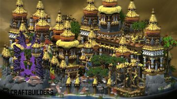 EPIC LOBBY   MAP PARKOUR Minecraft Map & Project