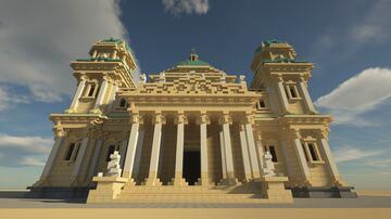 Basilica Of Saint Paul | Basilique Saint-Paul Minecraft Map & Project