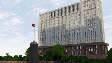 Площадь Республики Minecraft Map & Project