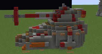 RX-200 Falchion-class assault tank   Minecraft 1.12.2 Minecraft Map & Project