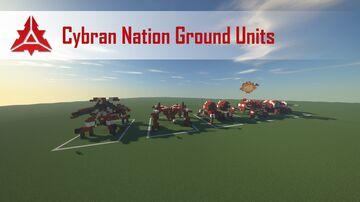 Supreme Commander 2 Cybran Nation Ground Units Minecraft Map & Project