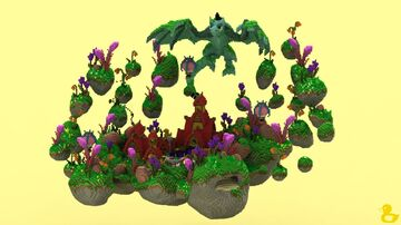 Spirngland Hub Minecraft Map & Project