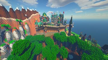 Seychil Islands Minecraft Map & Project