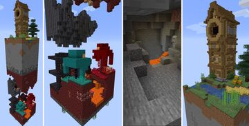 [One Chunk Challenge] World in a Chunk Minecraft Map & Project
