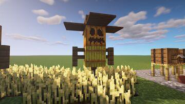 Scarecrow w/Tutorial Minecraft Map & Project