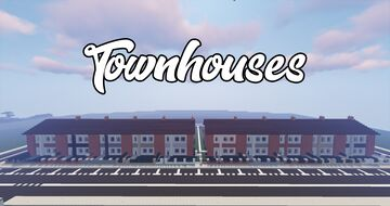 Townhouses - 1.12 Minecraft Map & Project