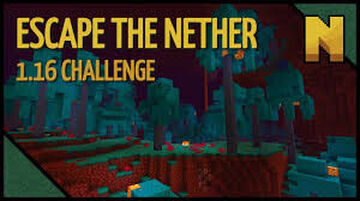 Escape From the Nether! Minecraft Map & Project